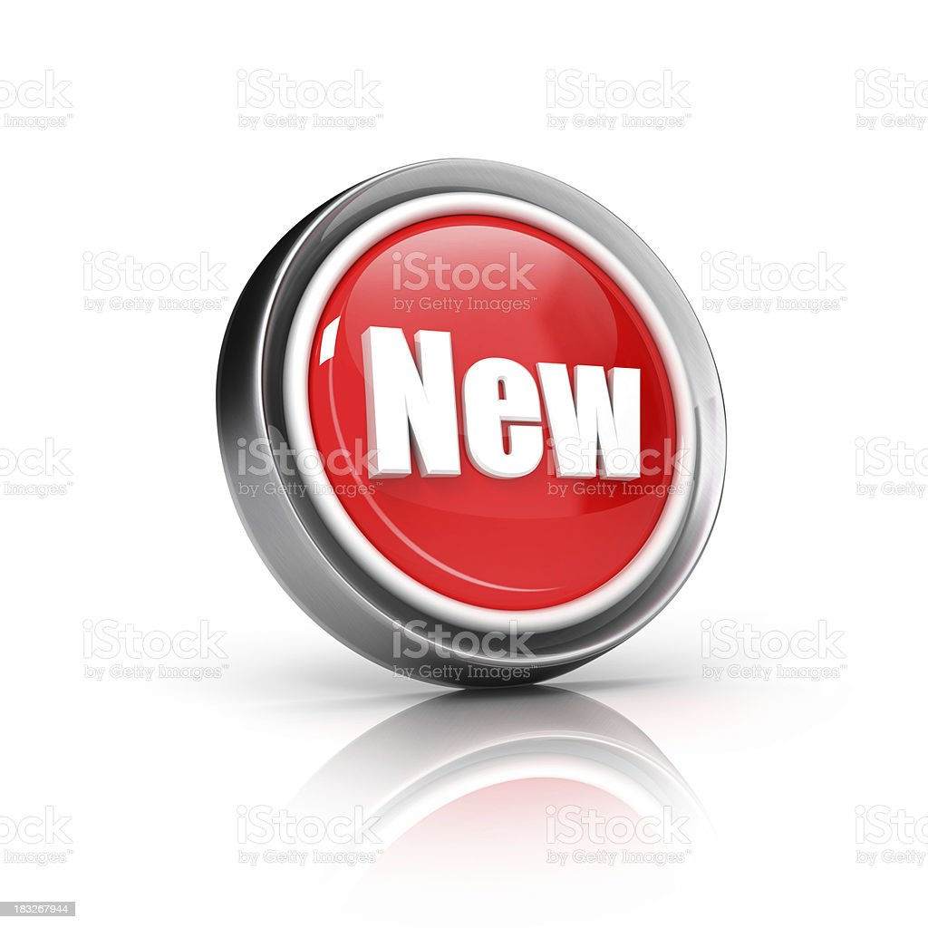 New or Update icon royalty-free stock photo