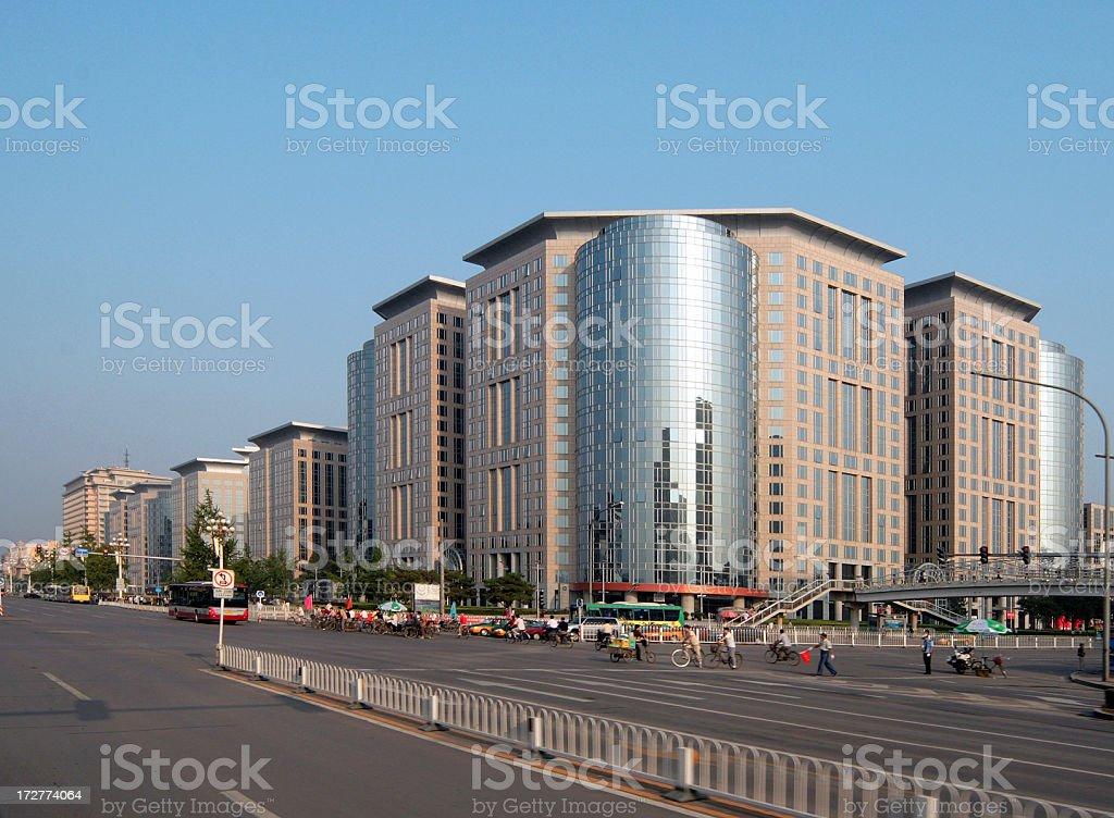 New Oriental Plaza - Modern Beijing royalty-free stock photo