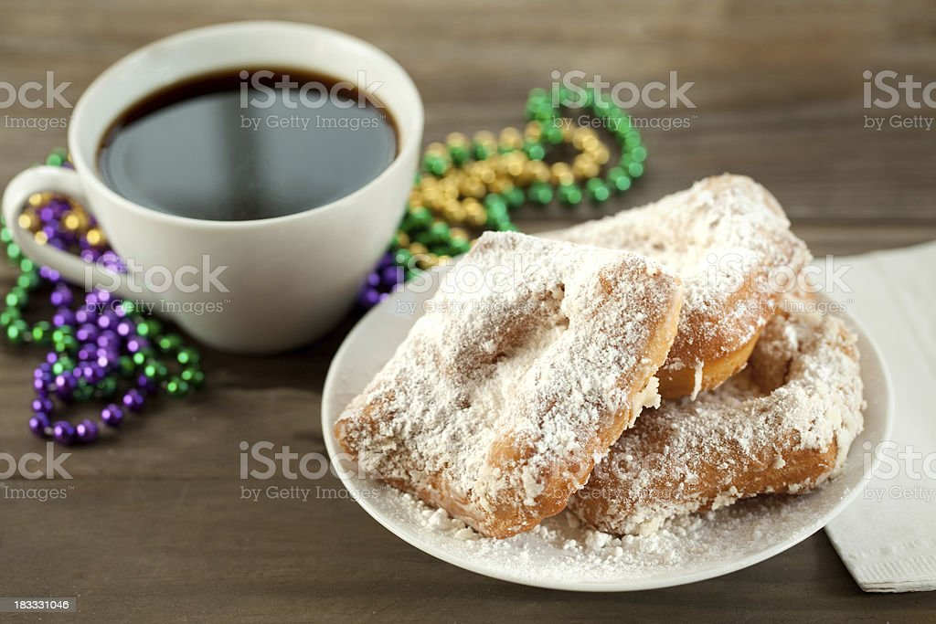 New Orleans Beignets stock photo