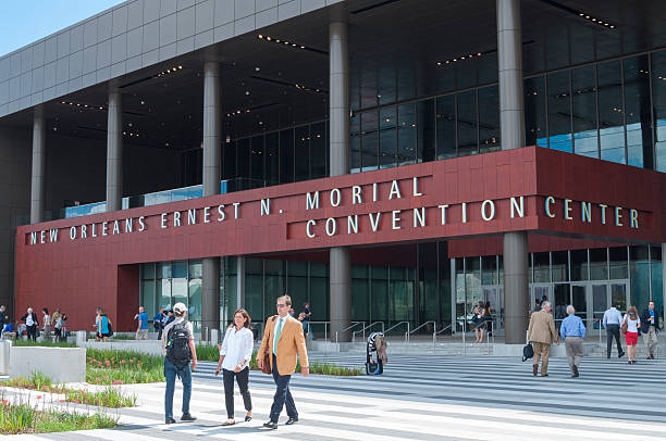 New Orleans Convention Center stock photo