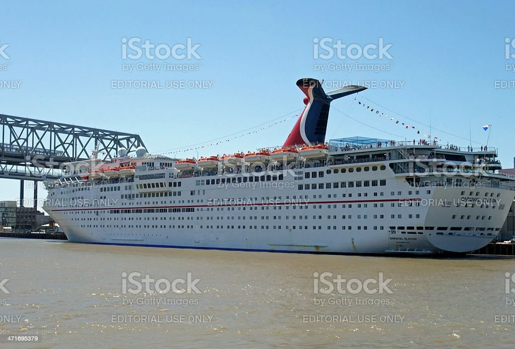 New Orleans Cruise royalty-free stock photo