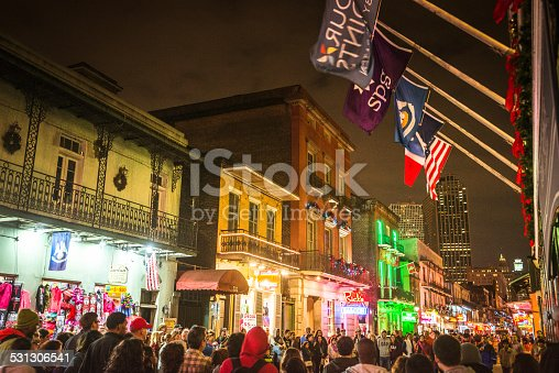 889246424 istock photo new orleans french quartier for christmas 531306541