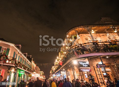 889246424 istock photo new orleans french quartier for christmas 531321019