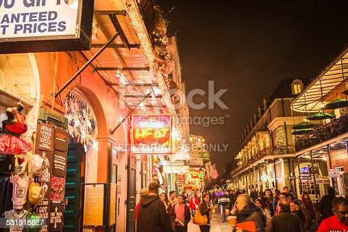 889246424 istock photo new orleans french quartier for christmas 531518627