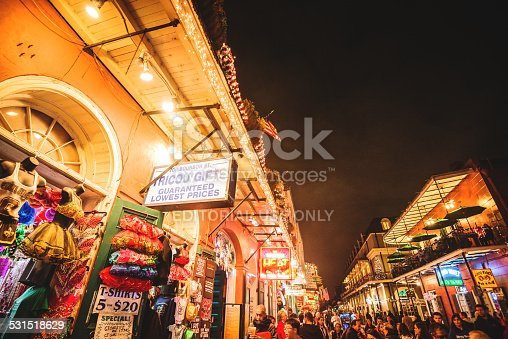 889246424 istock photo new orleans french quartier for christmas 531518629