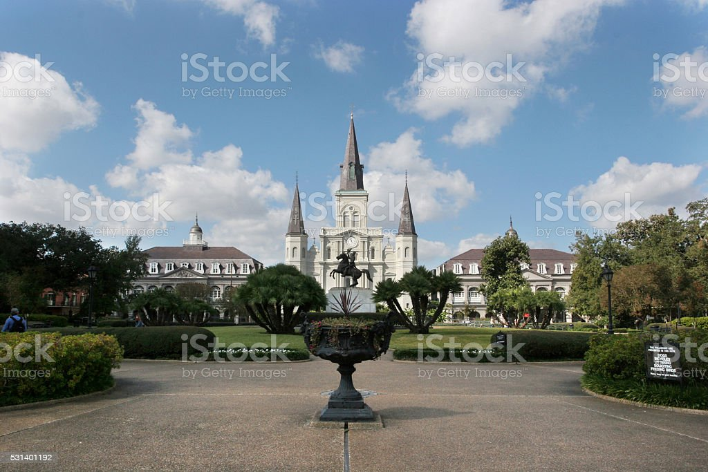 New Orleans - Jackson Square stock photo