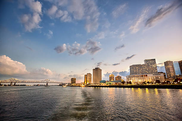 New Orleans Louisiana CityScape stock photo