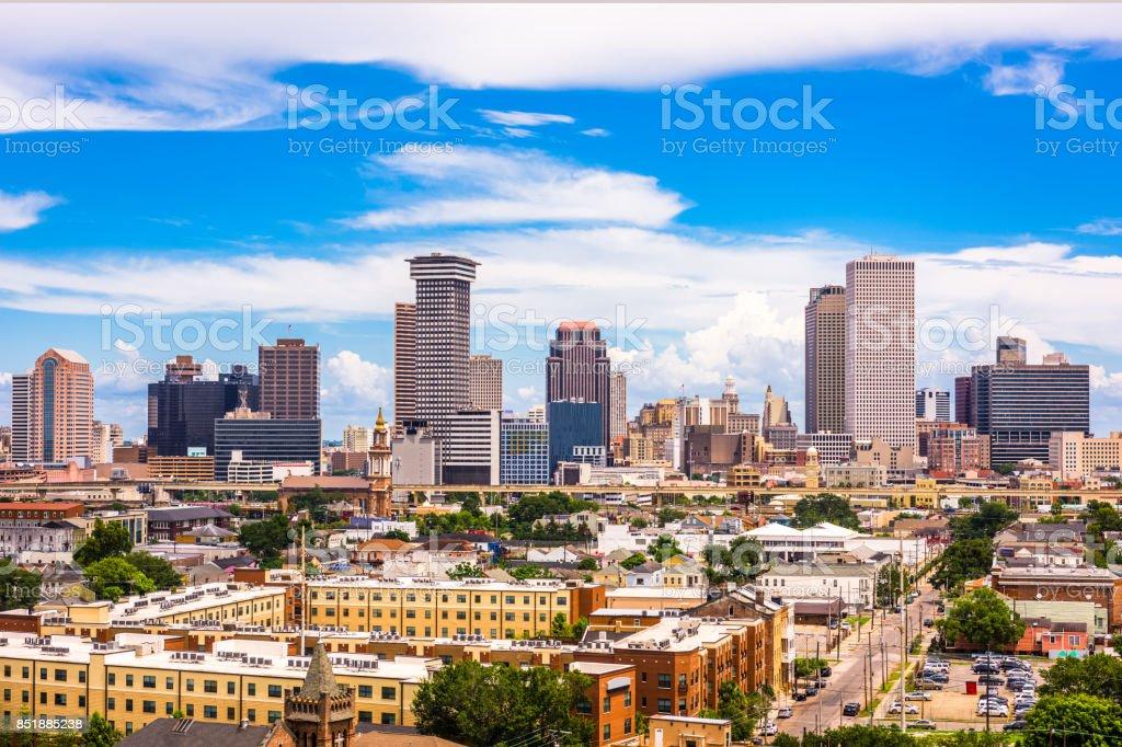 New Orleans, Louisiana Skyline stock photo