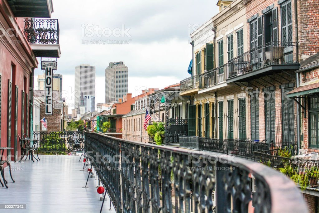 New Orleans Old and New stock photo