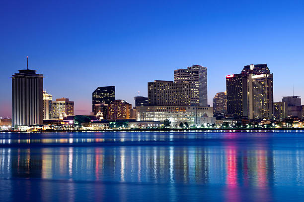 New Orleans skyline stock photo