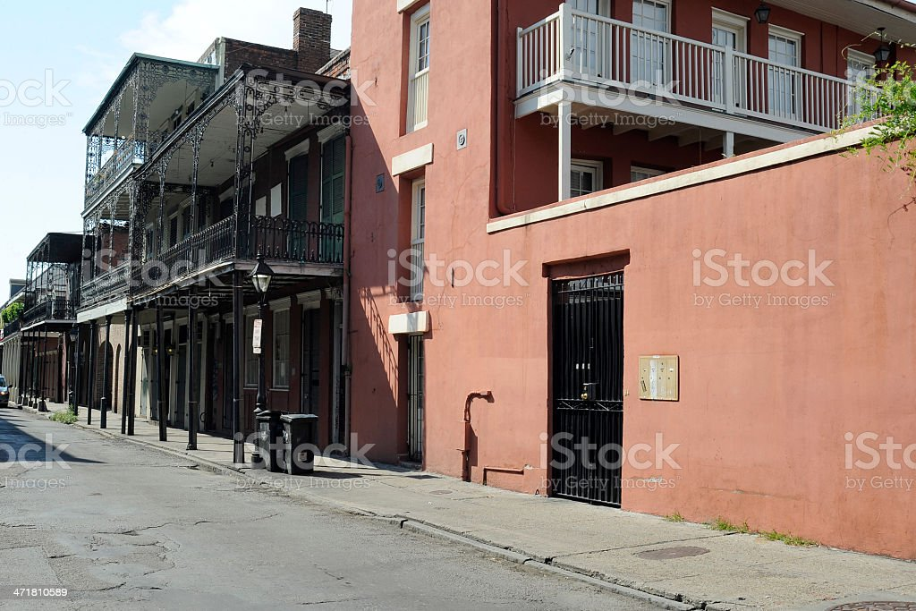 New Orleans Street Scene stock photo