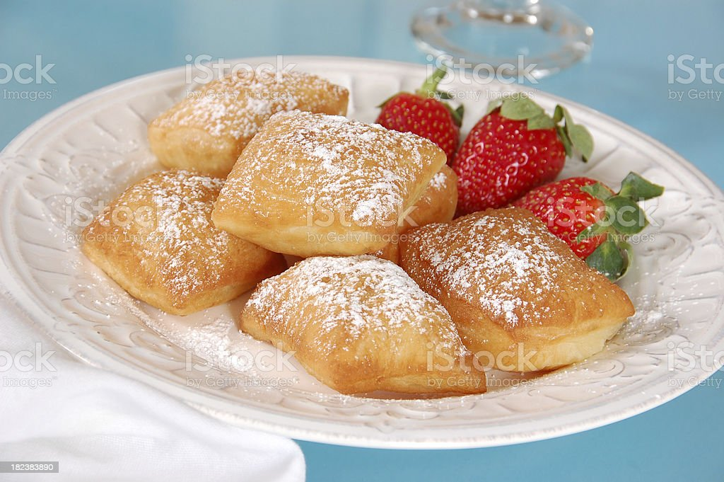 New Orleans Style Beignets stock photo