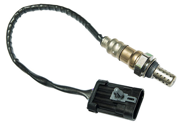 New oxygen sensor stock photo