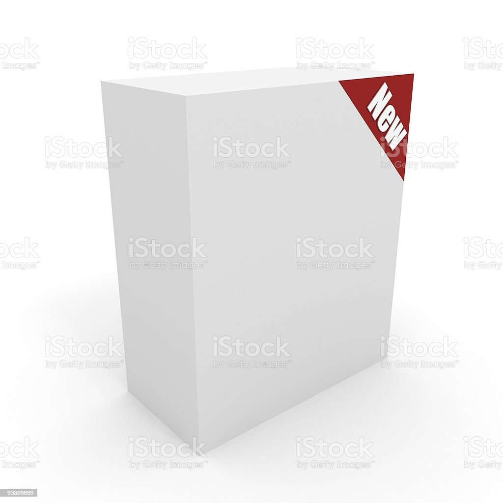 New Package royalty-free stock photo