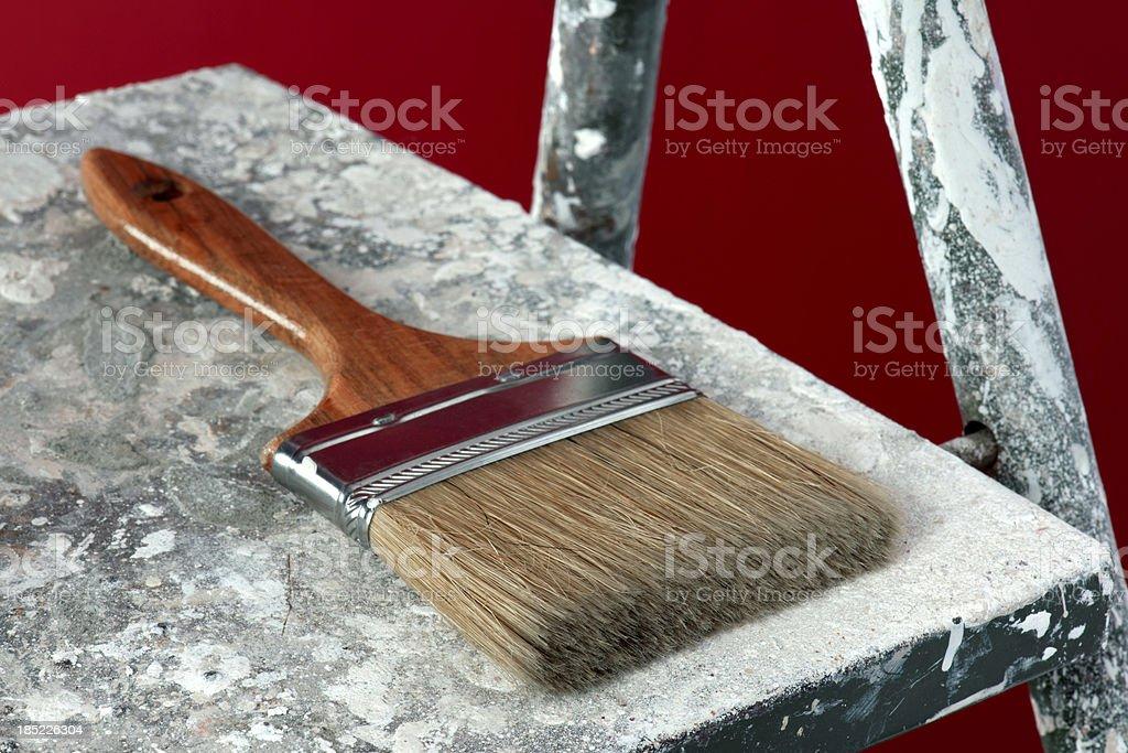 New Paintbrush royalty-free stock photo