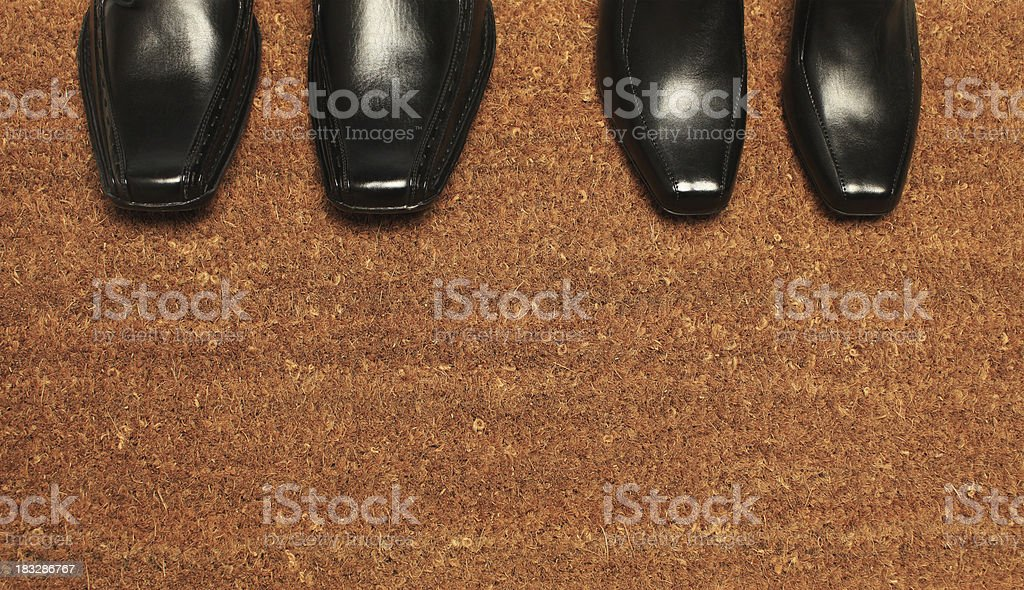 New pair of Boots royalty-free stock photo