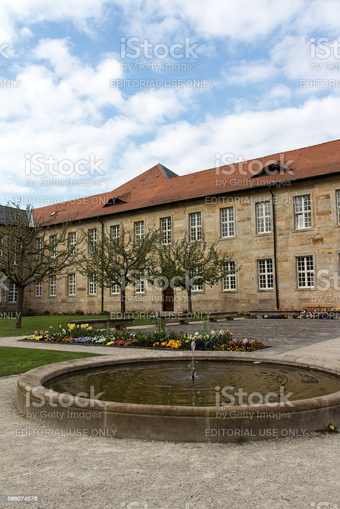 New Palace in Bayreuth, Germany, 2015 stock photo