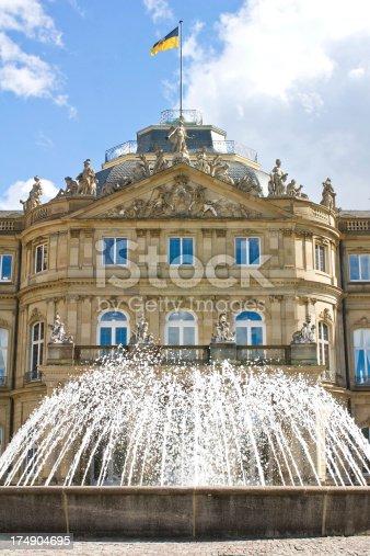 istock New palace Stuttgart 174904695