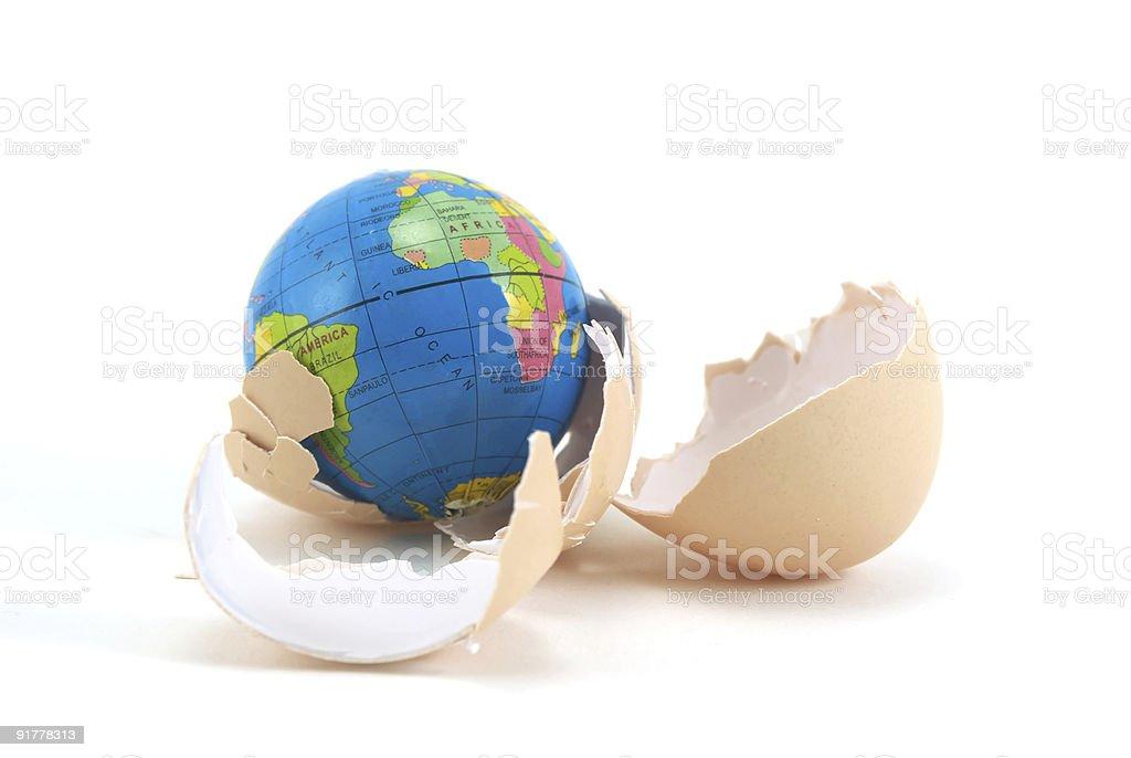 New planet stock photo