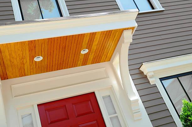 neue veranda - veranda decke stock-fotos und bilder