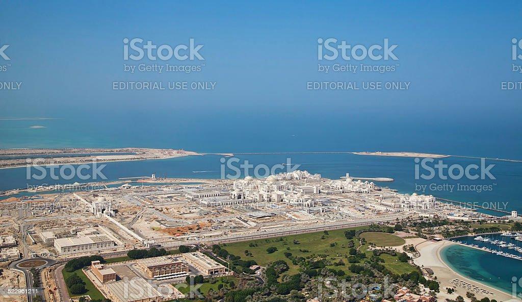 New presidential palace, Abu Dhabi stock photo
