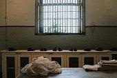 New Prisoner Intake at Alcatraz, San Francisco, USA