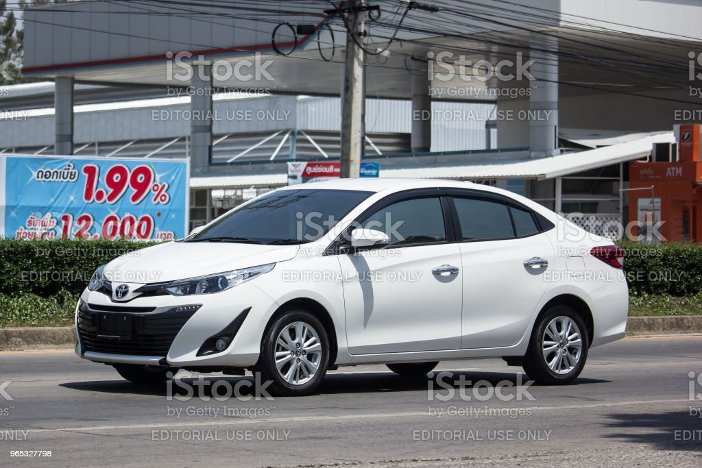 New Private Sedan car toyota Yaris ATIV Eco Car royalty-free stock photo