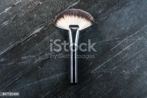 847152782 istock photo new professional cosmetic makeup brush tool 847152434