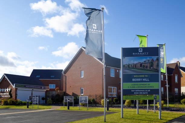 New Property Development Berry Hill Mansfield, Vereinigtes Königreich. – Foto