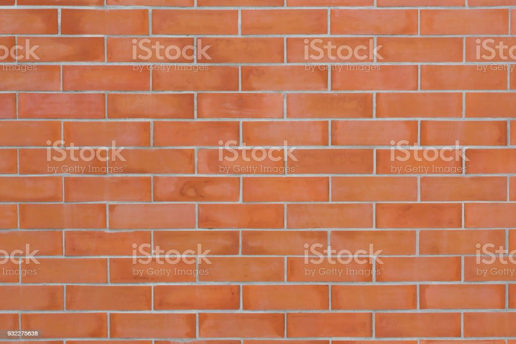 new red brick wall background and texture – zdjęcie