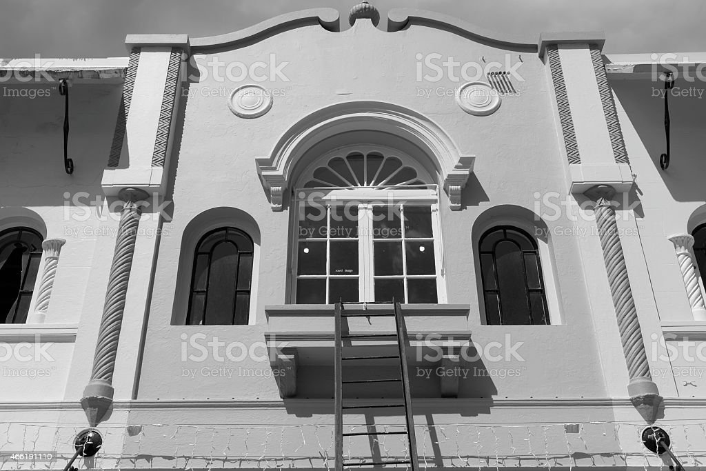 New Regent Street - Christchurch stock photo