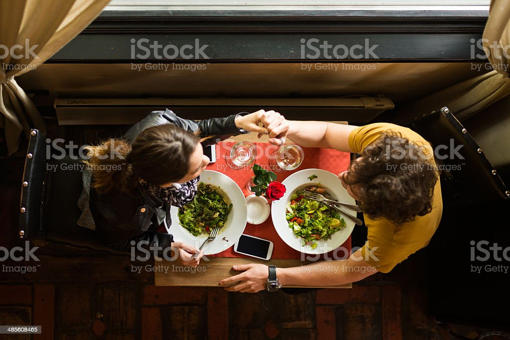 New relationship royalty-free stock photo