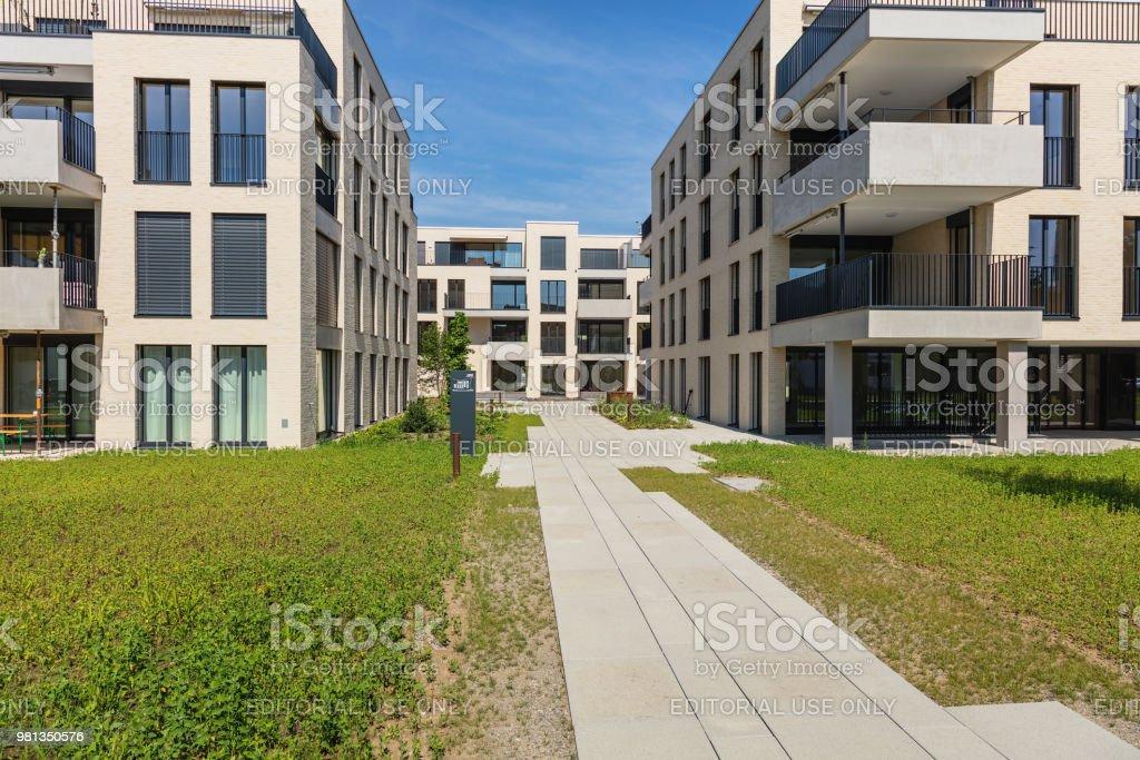 Neue Wohngebäude in Bremgarten, Schweiz – Foto