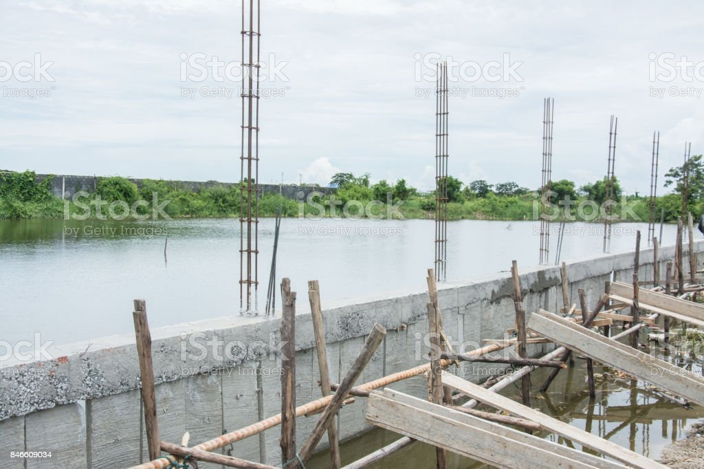 New Residential  under Construction stock photo