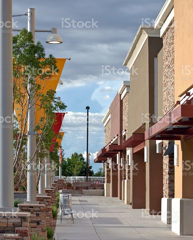 New Retail Stores stock photo