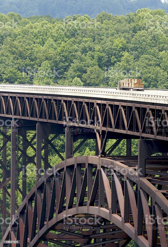 New River Bridge royalty-free stock photo