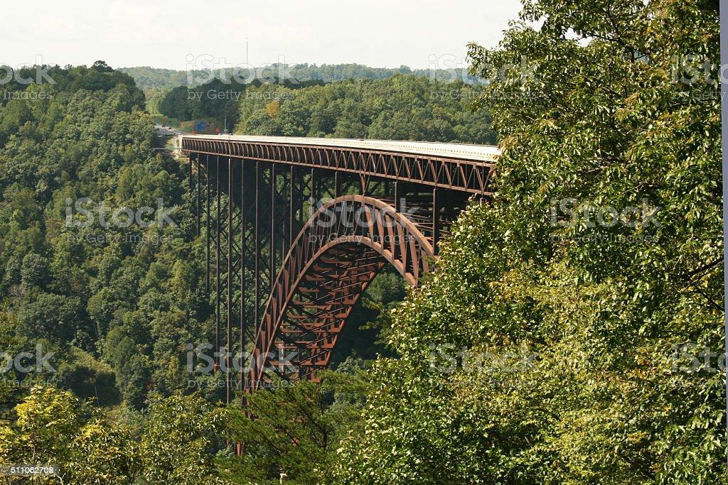 New River Gorge Bridge 1 stock photo
