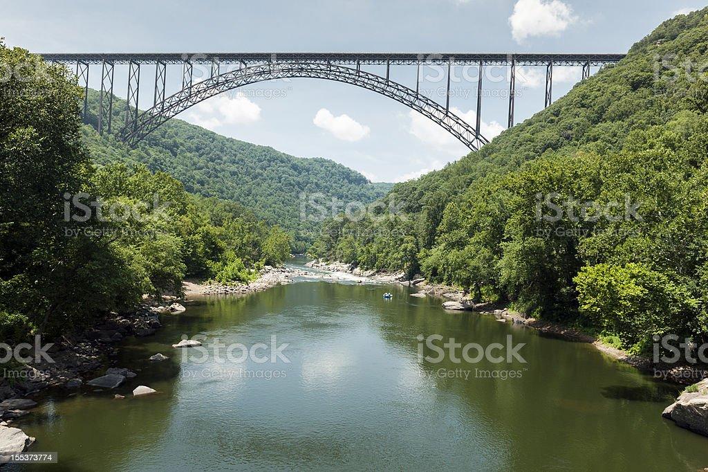 New River Gorge Bridge royalty-free stock photo