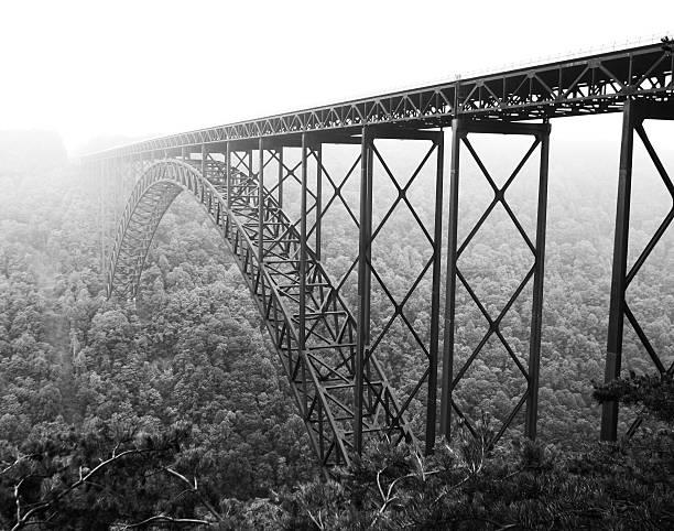 New River Gorge Bridge stock photo