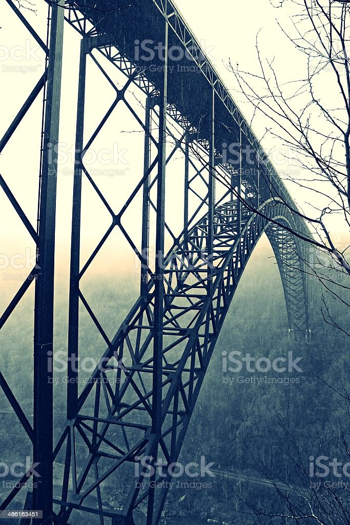 New River Gorge Bridge stock photo