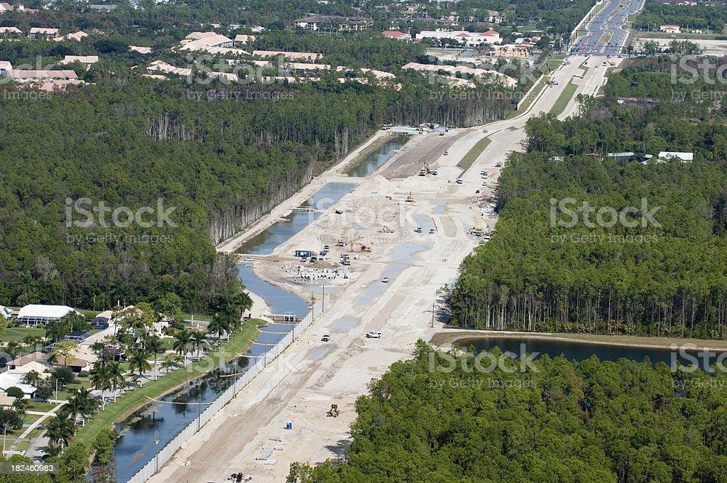 Nueva Road foto de stock libre de derechos