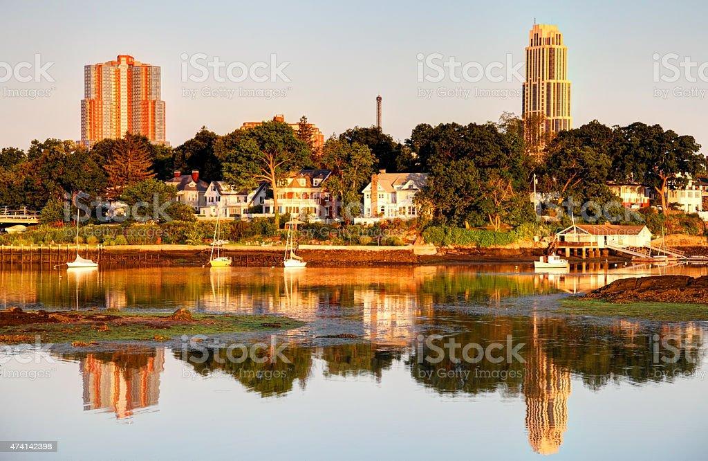 New Rochelle stock photo