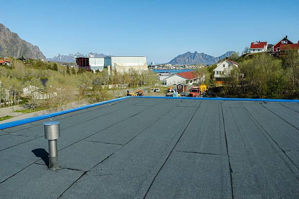 새로운 루프 건설 시 시사이드 스톡 사진
