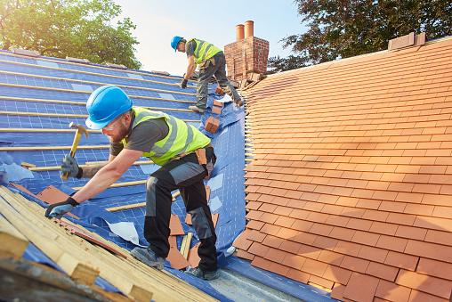 new roof installation