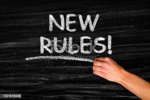 New Rules on blackboard