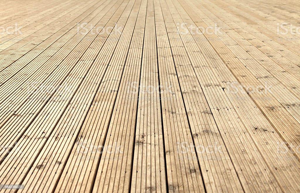 Neuer Bodenbelag Garten - Lizenzfrei Architektonisches Detail Stock-Foto