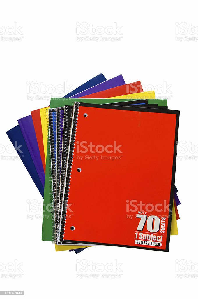New school supplies royalty-free stock photo