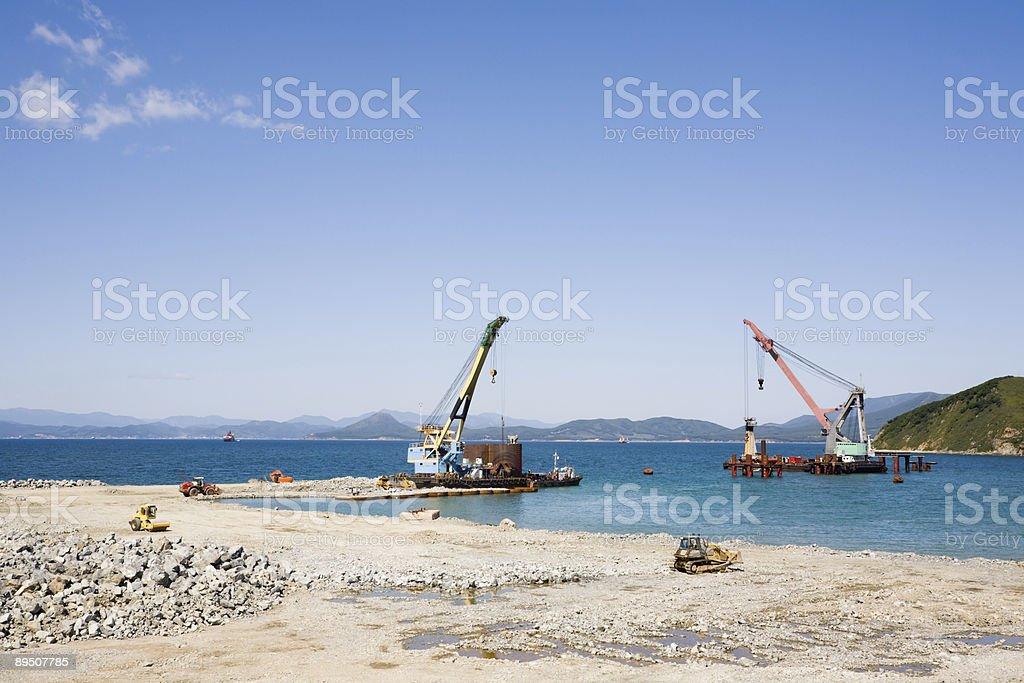 new Port photo libre de droits