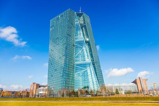 Nuova Sede Della Banca Centrale Europea Di Francoforte ...