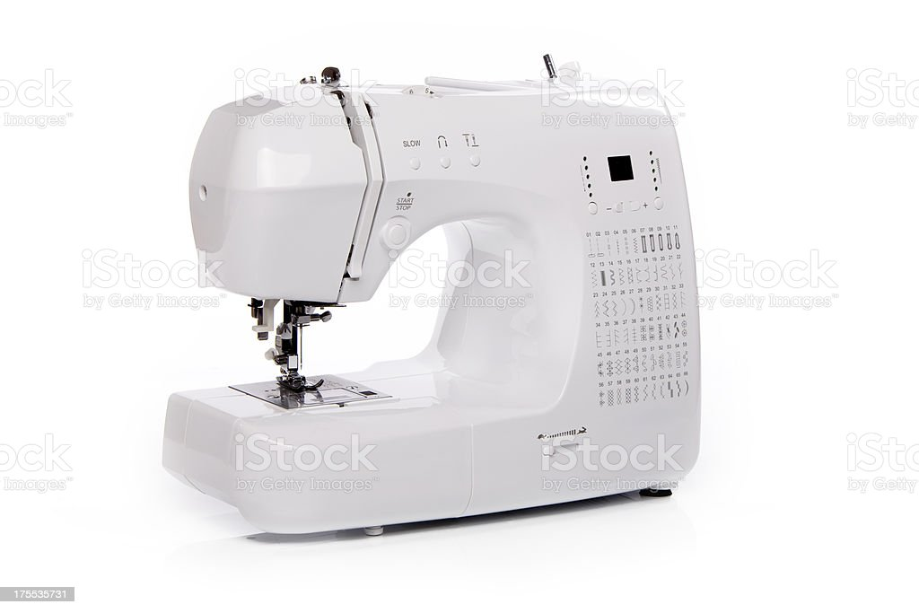 New Sewing Machine Isolated XXXL stock photo